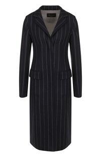 Приталенное шерстяное пальто из эластичной шерсти Loro Piana 3214273