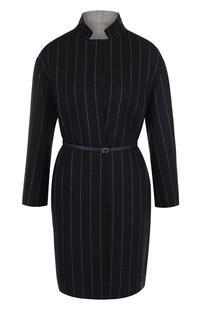 Двустороннее шерстяное пальто с укороченным рукавом Loro Piana 2582485