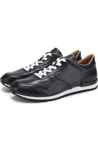 Кожаные кроссовки на шнуровке Tod's 2571468