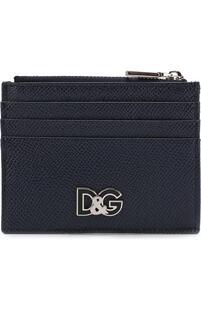 Кожаный футляр для кредитных карт с отделением для монет Dolce&Gabbana 2567045