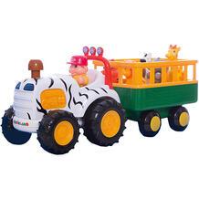 "Развивающий центр - трактор ""Сафари"", KIDDIELAND 5054087"