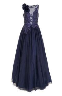 Приталенное платье-макси с вышивкой BASIX BLACK LABEL 2388951