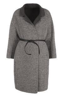Шерстяное пальто с поясом Loro Piana 2349455