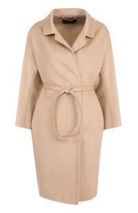 Кашемировое пальто с поясом Loro Piana 2349214