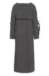 Хлопковое платье свободного кроя в полоску 3.1 PHILLIP LIM 2332773