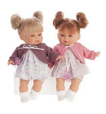 Кукла Juan Antonio Монси в фиолетовом 30 см 9845475