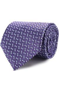 Шелковый галстук с узором CHARVET 2282169