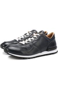 Кожаные кроссовки на шнуровке Tod's 2227354