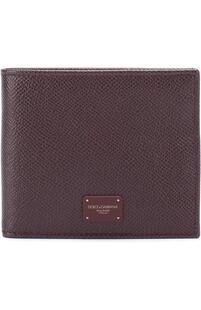 Кожаное портмоне с отделениями для кредитных карт Dolce&Gabbana 2181622