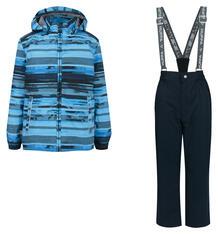 Комплект куртка/брюки Huppa Yoko 1, цвет: синий 10272818