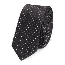 Шелковый галстук с узором Dolce&Gabbana 2124236