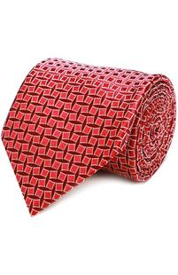 Шелковый галстук с узором CHARVET 2040543