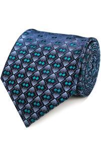 Шелковый галстук с узором CHARVET 2040536
