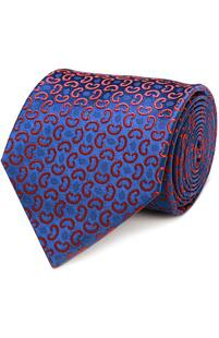 Шелковый галстук с узором CHARVET 2040529