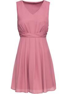 Платье с драпировкой bonprix 257562379