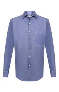 Льняная рубашка Loro Piana 1606670
