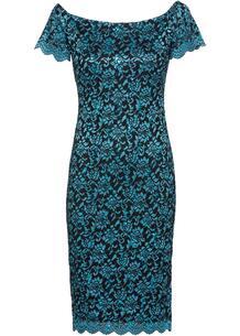 Платье с открытыми плечами bonprix 237516138