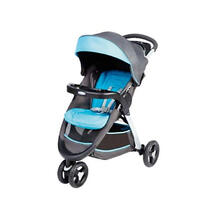 Прогулочная коляска Fastaction Fold, серый-голубой GRACO 4711689