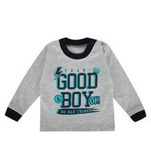 Джемпер Мелонс Good Boy, цвет: серый/синий 9946899
