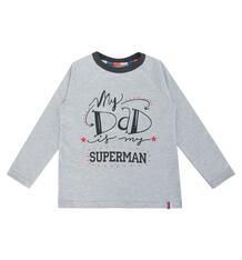 Джемпер Котмаркот Папа супермен, цвет: серый 10176006