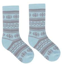Гольфы Эвантюэль Скандинавия, цвет: голубой/серый 8801707