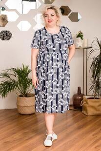 Платье трикотажное Кароль (клетка) Инсантрик 42588