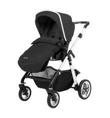 Прогулочная коляска Silver Cross Horizon Go Chassis/Seat Unit/H&A Pack-Onyx, цвет: светло-бежевый/темно-бежевый 9940971