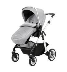 Прогулочная коляска Silver Cross Horizon Go Chassis/Seat Unit/H&A Pack-Platinum, цвет: светло-бежевый/темно-бежевый 9940974