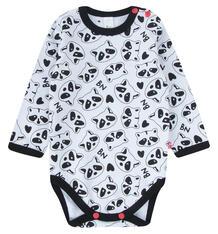 Боди Bossa Nova Panda baby, цвет: белый 9985011