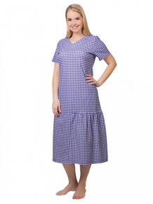 Платье трикотажное Ялта (клетка) Инсантрик 41085