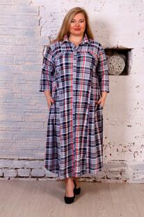 Платье трикотажное Годелив (клетка) Инсантрик 38936
