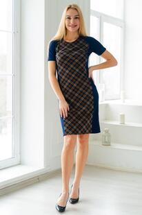Платье трикотажное Магдалина (клетка) Инсантрик 37174
