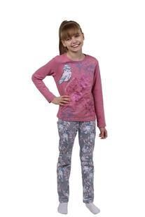 Пижама детская Совушка (розовая) Инсантрик 35937