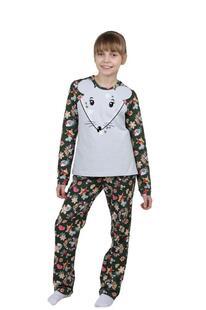 Пижама детская Мышонок (серая) Инсантрик 35934
