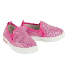 Слипоны Чиполлино, цвет: розовый 9333637
