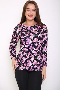 Блуза вискозная Роуз (цветы) Инсантрик 34850