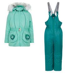Комплект куртка/брюки Аврора Леденец, цвет: зеленый Avrora 9836646