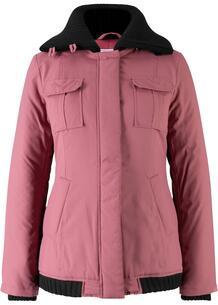 Зимняя куртка с вязаными деталями bonprix 251835216