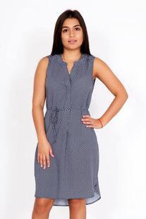 Платье трикотажное Вилора (синее) Инсантрик 29900