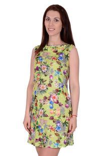 Платье трикотажное Лирика (салатовое) Инсантрик 28976