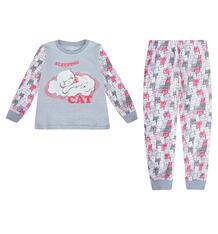 Пижама джемпер/брюки Batik, цвет: серый 9755568