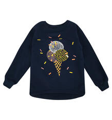 Джемпер Котмаркот Мороженки LV, цвет: синий 7321339
