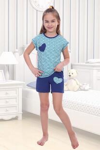 Пижама детская Маша (ментоловая) Инсантрик 26803