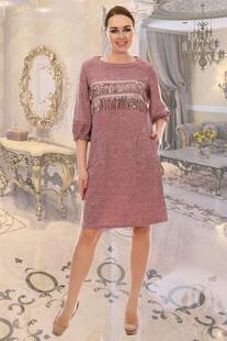 Платье трикотажное Ориджинал (розовое) Инсантрик 23394
