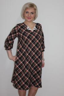 Платье трикотажное Моника (клетка) Инсантрик 24382