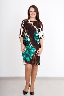 Платье трикотажное Элина Инсантрик 24220