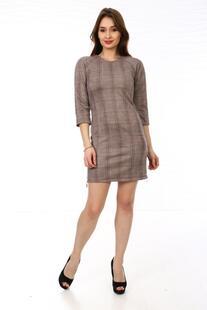 Платье замшевое Оуэна (клетка) Инсантрик 23838