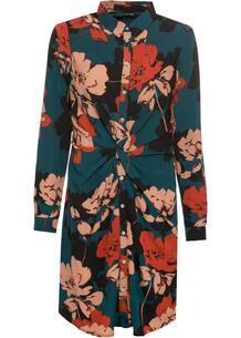 Платье-рубашка с драпировкой bonprix 244636745