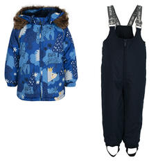 Комплект куртка/брюки Huppa Avery, цвет: синий 9562311
