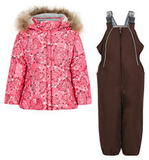 Комплект куртка/полукомбинезон Kvartet, цвет: розовый Квартет 9585237